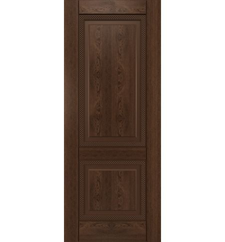 фото: Дверь Камелот, шпон натуральный дуб тон миндаль