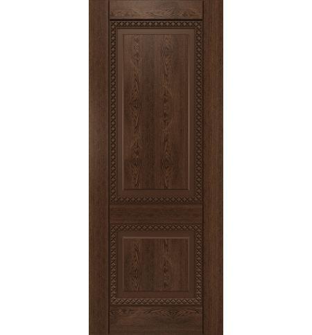 фото: Дверь Камелот-1, шпон натуральный дуб тон миндаль