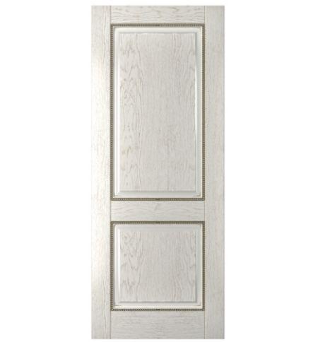 фото: Дверь Гранд, шпон натуральный дуб тон капучино