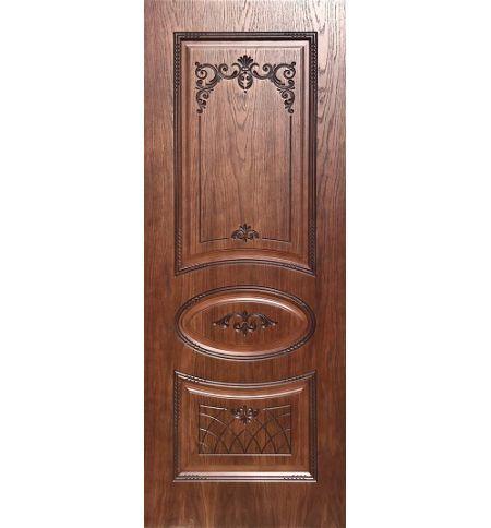 фото: Дверь Ария, шпон натуральный дуб тон коньяк