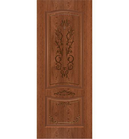 фото: Дверь Юнона, шпон натуральный дуб тон коньяк