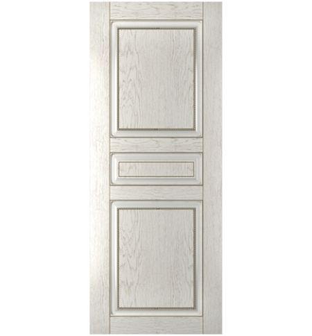 фото: Дверь Элит, шпон натуральный дуб тон капучино