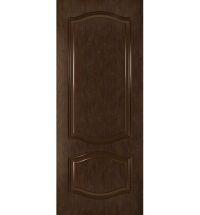 фото: Дверь Шервуд, шпон натуральный дуб тон каштан