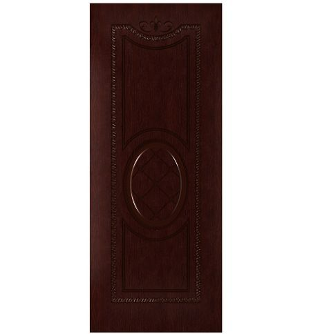 фото: Дверь Цезарь, шпон натуральный дуб тон кармен