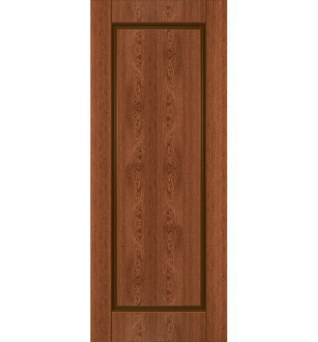 фото: Дверь Соло, шпон натуральный дуб тон коньяк