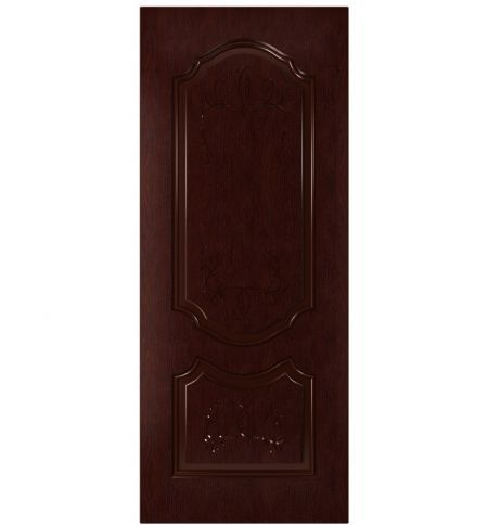 фото: Дверь Премиум-1, шпон натуральный дуб тон кармен