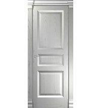 фото: Дверь Классика 4 Ясень Эмаль