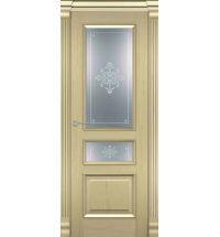 фото: Дверь Парма Слоновая Кость стекло