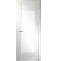 фото: Межкомнатная дверь Зебра Белая Эмаль