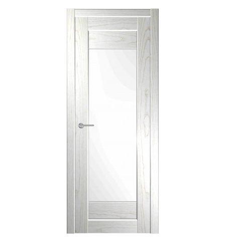 фото: Дверь Зебра Белая Эмаль