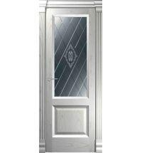 фото: Дверь Классика 2 Ясень Эмаль