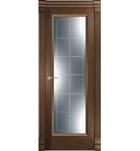 фото: Дверь Классика 1 Американский Орех стекло