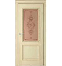 фото: Дверь Британия Римини Слоновая Кость