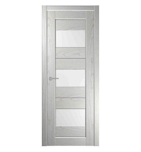 фото: Дверь Зебра 2 Белая Эмаль