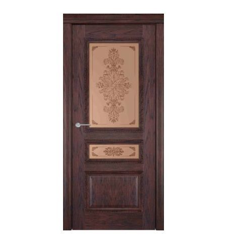 фото: Дверь Британия Парма Каштан