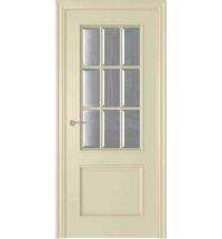 фото: Дверь Амелия 4 Слоновая Кость стекло