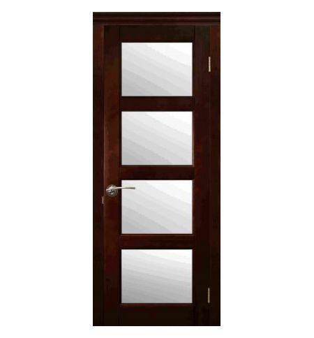 фото: Дверь Базис Средний Орех
