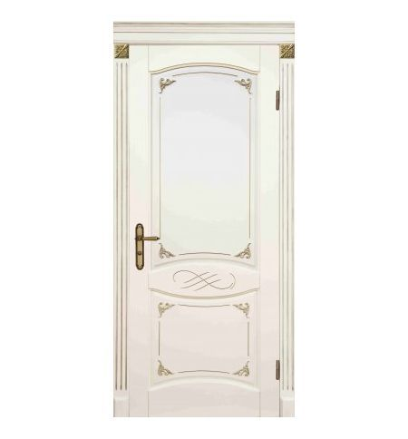 фото: Дверь Маркиза Белый Жемчуг