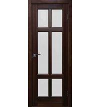 фото: Дверь Прованс Красное Дерево стекло