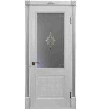 фото: Дверь Бордо Белый Жемчуг