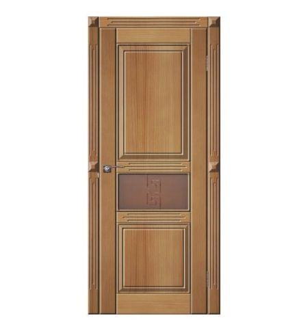 фото: Дверь Джулия 2 Светлый Орех