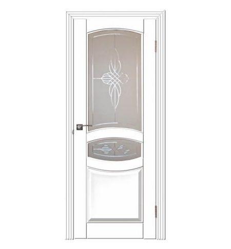 фото: Дверь Виктория Белый Жемчуг