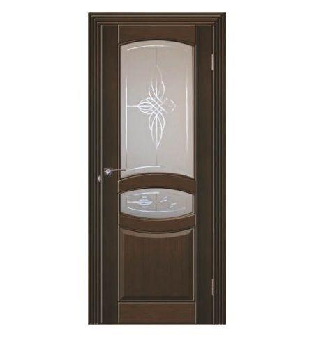 фото: Дверь Виктория Темный Орех