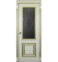 фото: Дверь Барон Белый Шелк