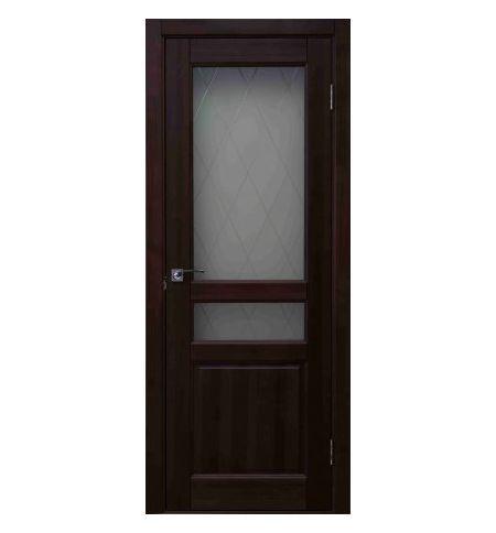 фото: Дверь Джулия Красное Дерево стекло