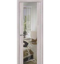 фото: Дверь Стиль с зеркалом