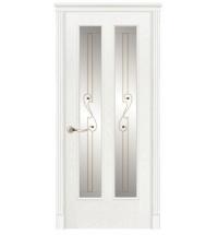 фото: Дверь ПО Бристоль ясень бланко, стекло Лира из Шпон