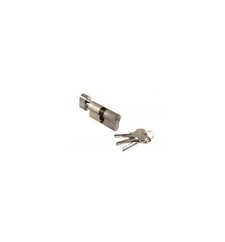 фото: Цилиндр Morelli с поворотной ручкой (60 мм) 60CK SN